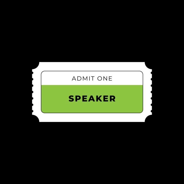 DTEC ticket speaker